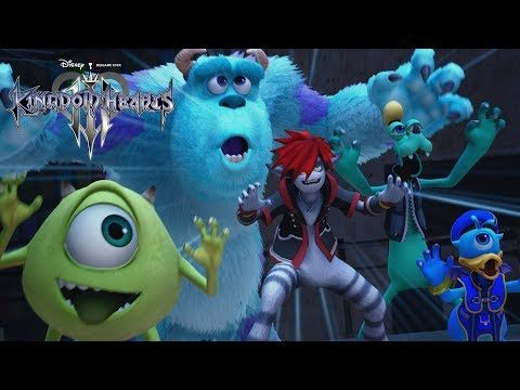 Kingdom Hearts 3 D23 2018 Trailer English subtitles - for those of us who just freaked out watching the Japanese version without understanding a word lol
