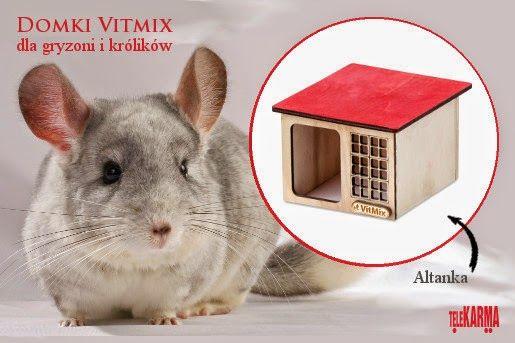 Domki Vitmix dla gryzoni i królików