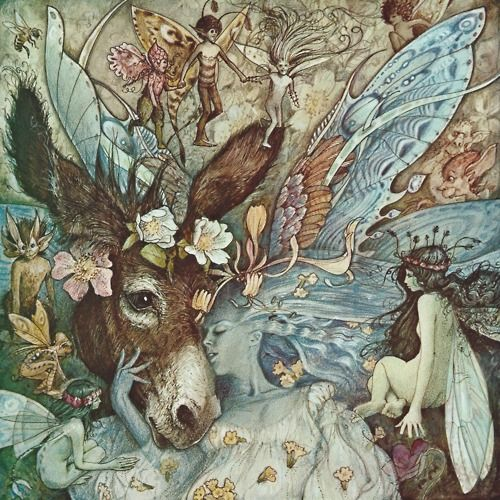 Illustration by Brian Froud for A Midsummer Night's Dream.