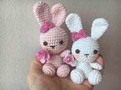 Faça você mesmo AMIGURUMI #2 Coelho da Páscoa em crochê (crochet easter bunn…