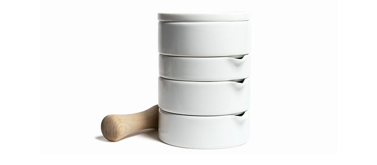 Japanese Porcelain Stacking Tools on AHAlife