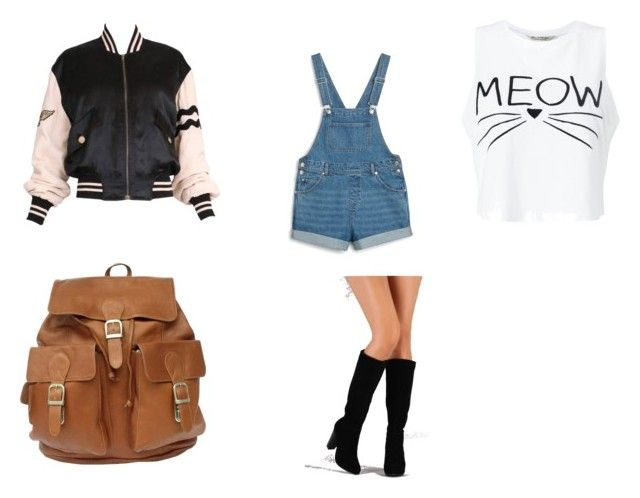 """Gravity Falls 2"" by willowokimaw on Polyvore featuring Moschino, Monki and Miss Selfridge"