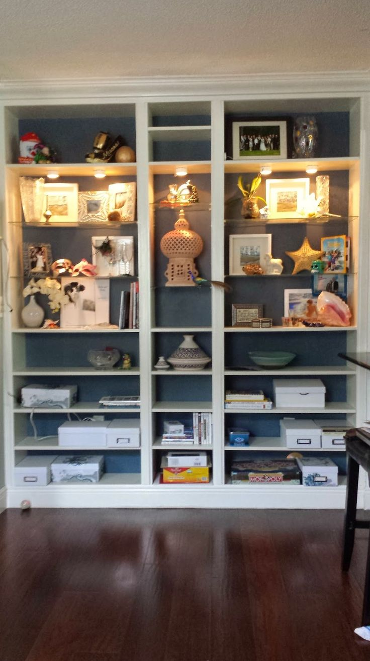 Nadia's DIY Projects: Turn an IKEA Billy Bookcase into a Custom Built-in