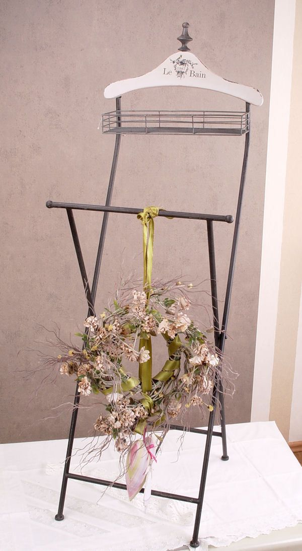 Silent Servant Clothes Stand Valet Stand Shabby Chic