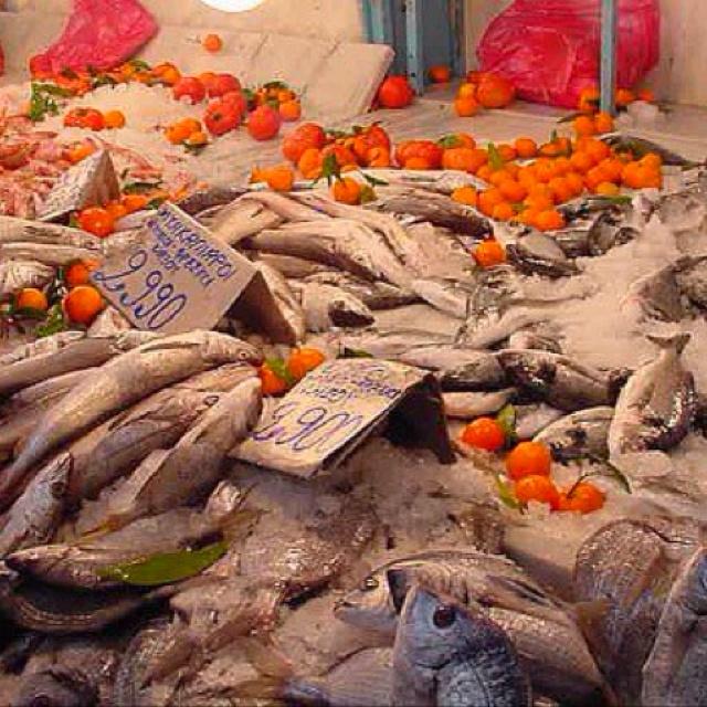 Fish market ATHENS GREECE