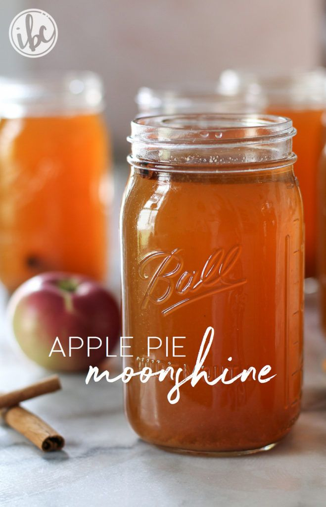 Apple Pie Moonshine recipe | inspiredbycharm.com