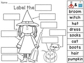 Halloween Activities by Miss Giraffe | Teachers Pay Teachers