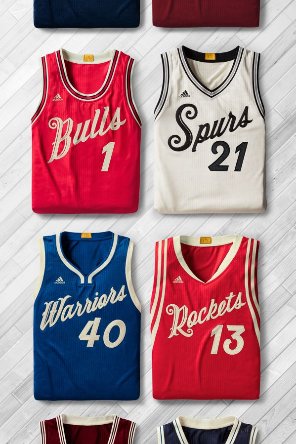 PHOTO: NBA unveils Christmas Day jerseys, socks | theScore