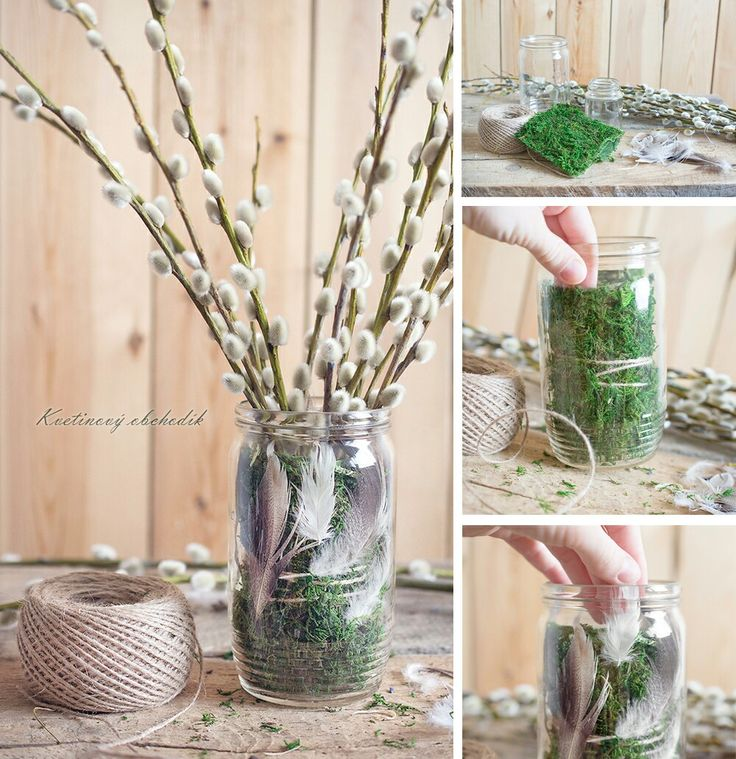 DIY spring last minute decor