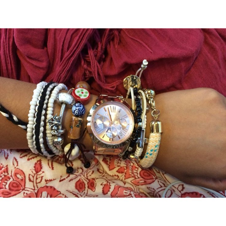 bohemian style arm candy