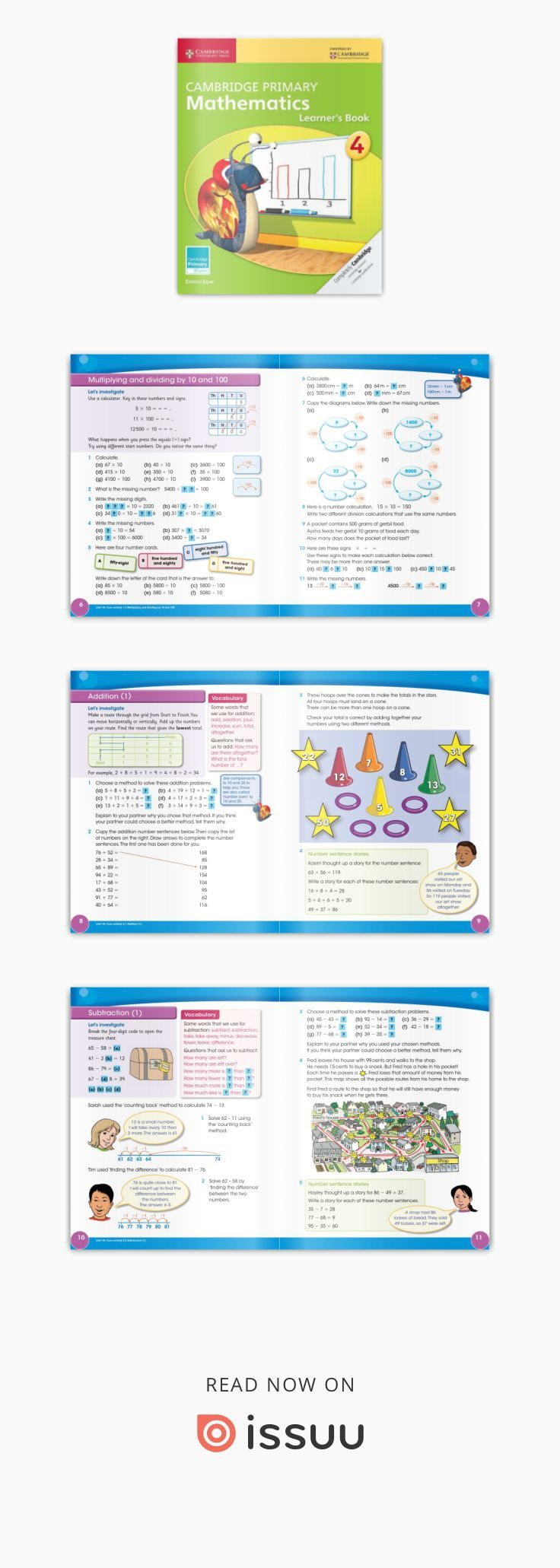 Cambridge Primary Mathematics Learner S Book Stage 4 Preview Cambridge Primary Mathematics Learner S Book Stage 4 E Cambridge Primary Mathematics Cambridge