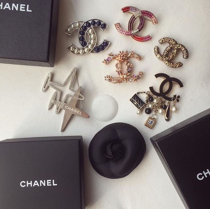 Chanel Airlines brooch