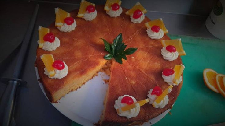 #flourless orange cake
