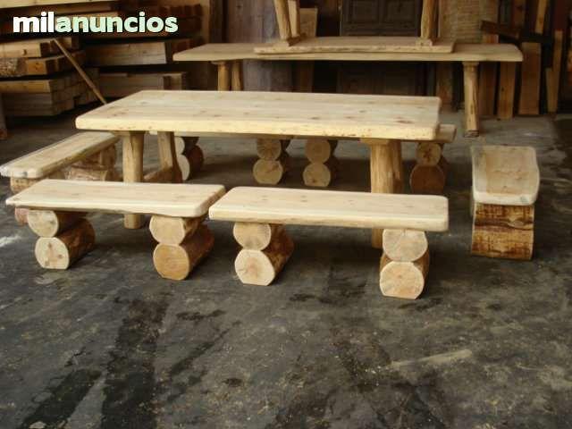 Ofertas invierno bancos rusticos foto 1 proyectos que for Terrazas rusticas en madera