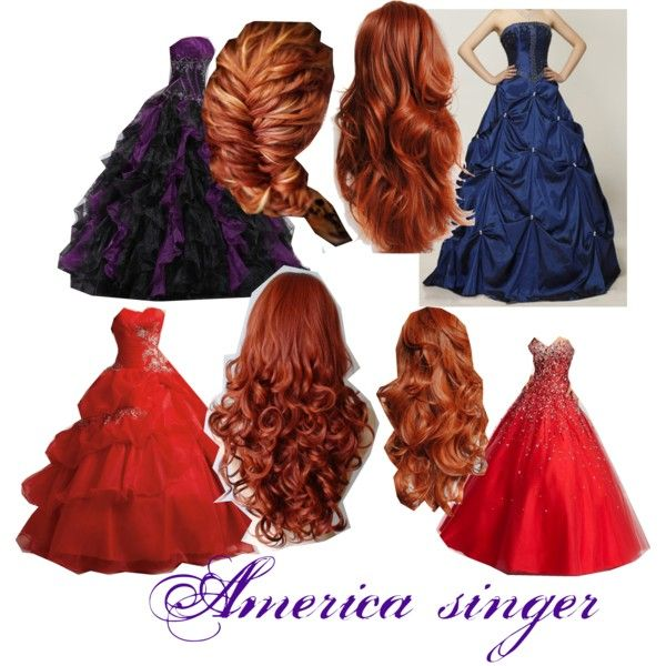 The selection america singer - Polyvore