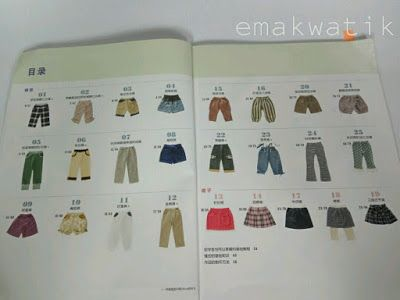 review buku jahit cina (chinese sewing books)