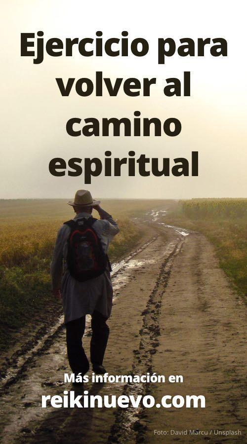 Si estás haciendo tu camino espiritual es probable que en algunos momentos sientas que te vas por otros rumbos o que tu conexión con la Fuente ya no es la misma. Más información: http://www.reikinuevo.com/ejercicio-camino-espiritual/