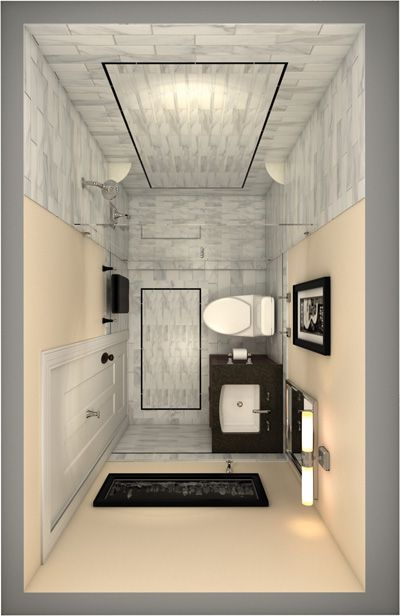 110 best ensuite inspiration images on pinterest for Tiny space bathrooms
