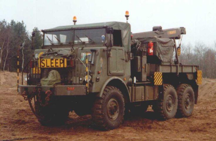 Daf YB-626 takelwagen (geen Bravo voertuig)