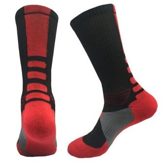 Buy LALANG Mens Sport Socks Professional Basketball Elite Socks Outdoor Sport Sock Black&Red online at Lazada. Discount prices and promotional sale on all. Free Shipping.