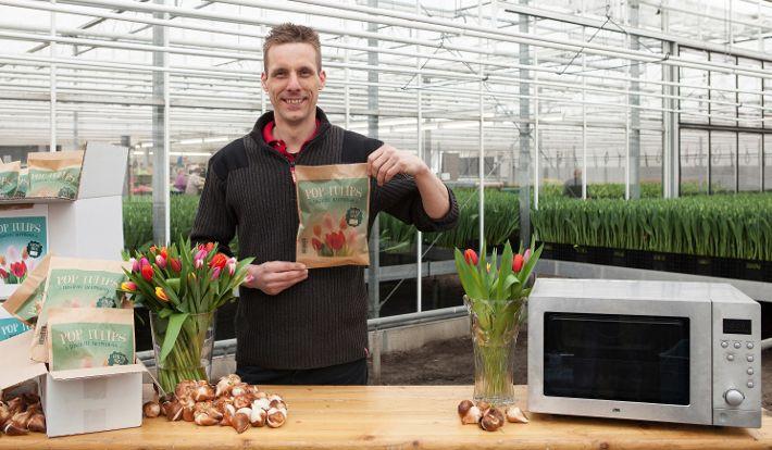 Zucker. für die Blumen- und Pflanzenwelt! Wieso wir Tulpen in der Mikrowelle wachsen lassen, erfahrt ihr auf unserem Blog: