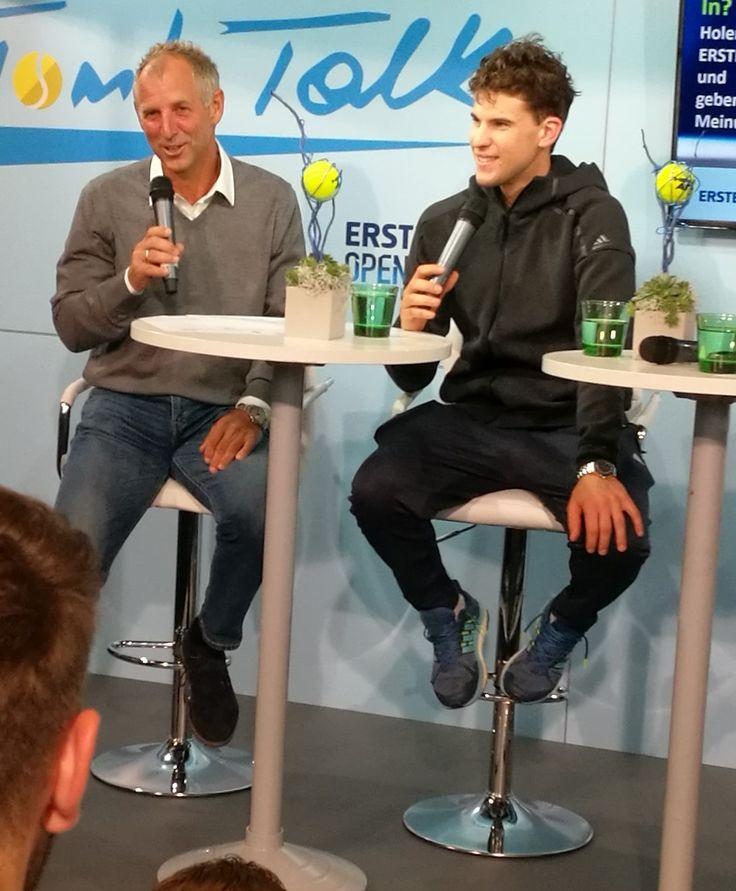 Thomas Muster & Dominic Thiem - Tom's Talk in Vienna