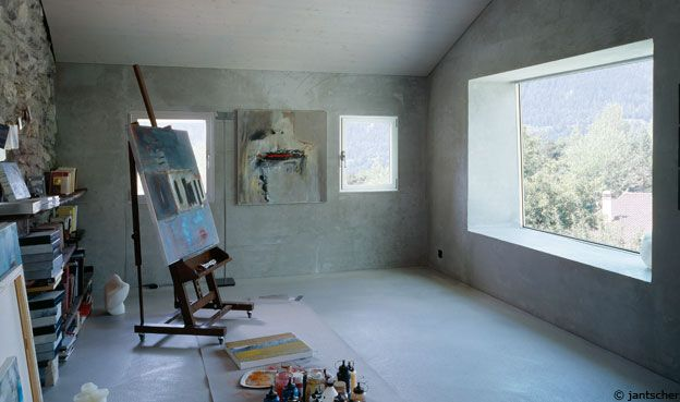 love: Houses Renovation, Art Studios, Fabrizzi Architects, Home Renovation, Savioz Fabrizzi, Interiors Design, Houses Architecture, Art Rooms, Rustic Home