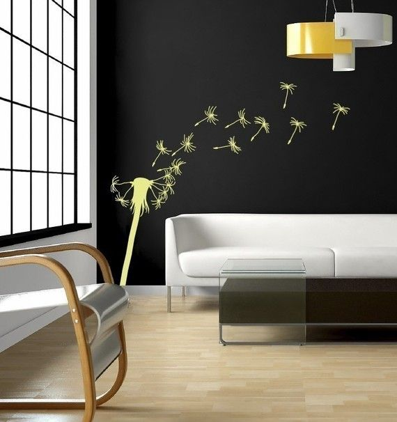 Items Similar To Blowing Dandelion Vinyl Wall Decal, Wall Sticker (many  Sizes) Giant On Etsy