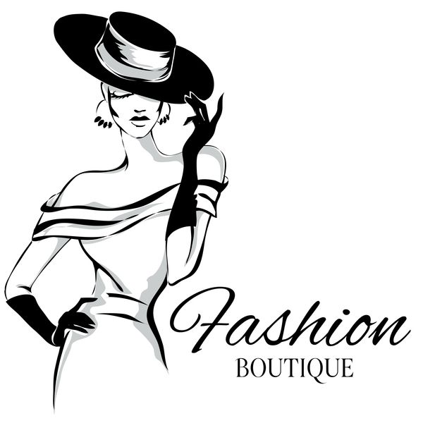 Free Eps File Fashion Boutique Background With Beautiful Girl Vector 04 Download Name Fashion Boutique Ba Fashion Background Fashion Logo Fashion Logo Design