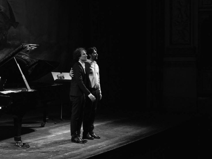 20 gennaio 2015 David Greilsammer e Angelo Di Genio David Greilsammer | pianoforte Angelo Di Genio | voce recitante Foto di Giuseppe Flavio Pagano