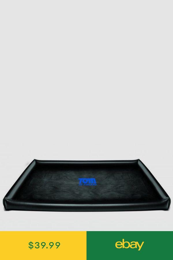 Waterproof Play Fantasy Mat Blk Tom of Finland Rubber Vinyl Sheet Queen Size