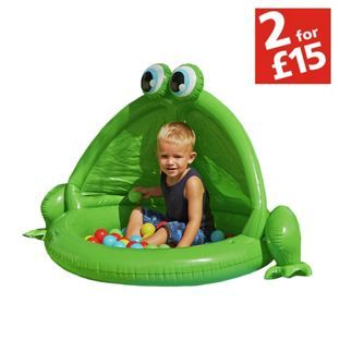 Buy Chad Valley Frog Baby Pool and Ball Pit at Argos.co.uk - Your Online Shop for 2 for 15 pounds on Toys, Pre-school large play equipment, Pools and paddling pools.