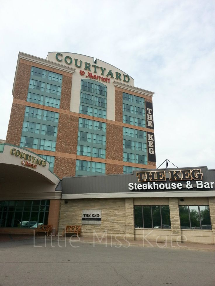 Courtyard Marriott Niagara Falls, Ontario great getaway location with so much to do.