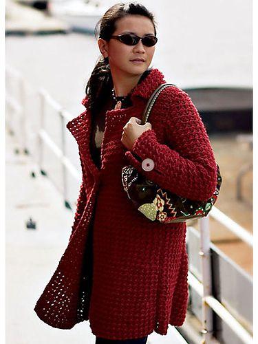 Cinnabar Coat pattern by Mari Lynn Patrick