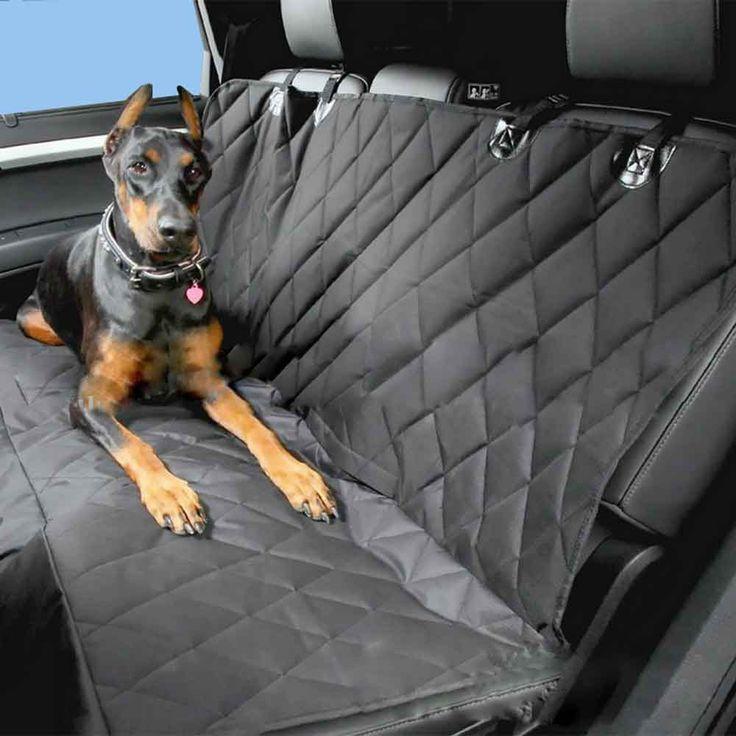 Universal Car Mascota Cubierta de Asiento de Banqueta Trasera Impermeable Oxford Interior del coche Accesorios Fundas de Asiento de Coche Estera de Viaje Para Mascotas perros
