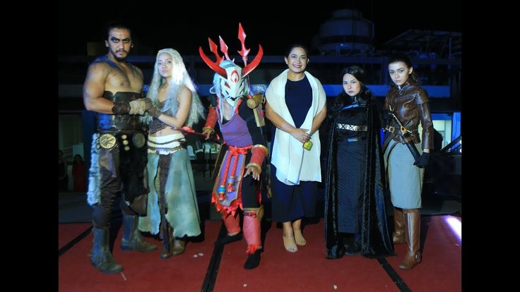 Le Charme Suites Subic Halloween Cosplay Competition