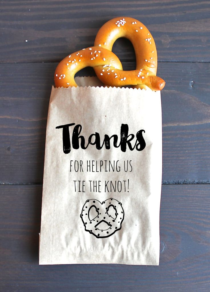 Looking for the perfect favors for all of your wonderful wedding guests? Consider edible wedding favors! They are a fun and thoughtful gift for your guests, and they won't end up collecting dust on a shelf. We've narrowed it down to 12 options from Etsy for your big day. How cute are these pretzel favor …