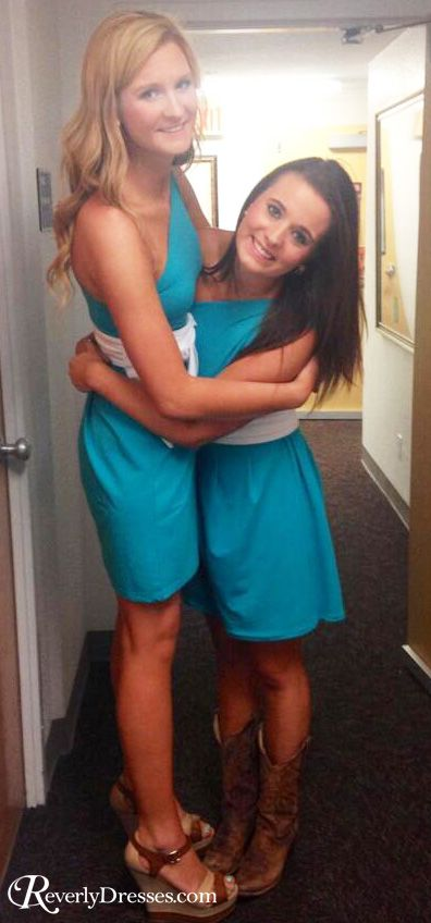 Custom dresses for sorority recruitment.  Adorable and contemporary styles!  $40 with group order discount!