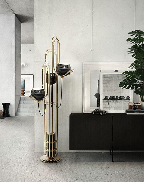 Neil Mid Century Modern Floor Lamp | DelightFULL