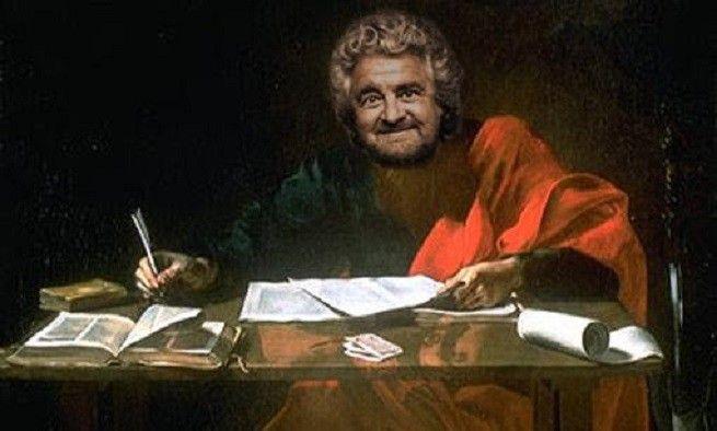 """Lettera aperta di auguri al presidente della Repubblica, che oggi si è insediato dopo il giuramento davanti al Collegio Elettorale presidenziale. Nove auguri/auspici, a partire dal primo: """"Tuteli la Costituzione"""". Con una citazione pittorica da ipertrofia dell'ego. Ma tant'è, se serve a far fare passi avanti all'Italia, ci beviamo pure questa..."""