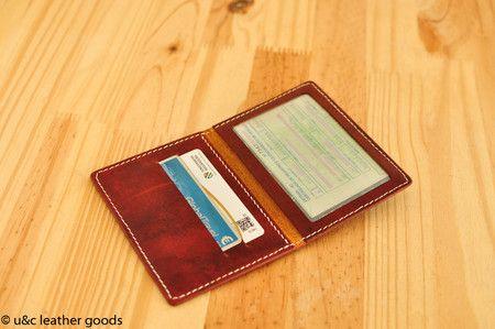 Porta Documento em couro (BW018)