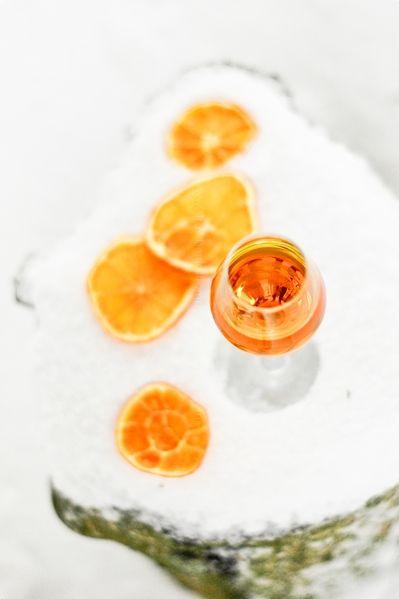 nalewka pomarańczowo-kawowa na święta!