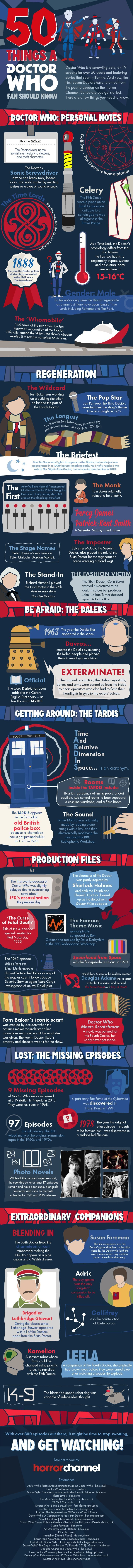 50 DoctorWho facts every Whovian should know!