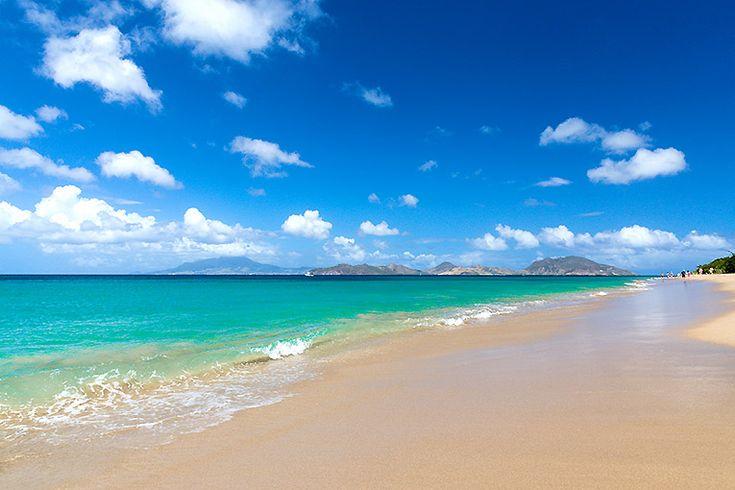 Saint Kitts och Nevis (261 km²)