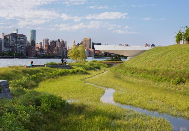 From Wasteland To Highlight Hunter S Point South Waterfront Park In Nyc Landscape Plans Park Landscape Wetland Park