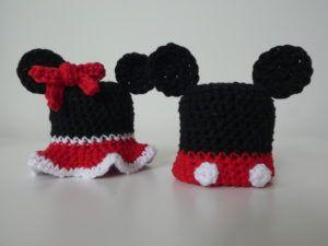 Mickey en Miney mouse mutsjes Goedgemutste Breicampagne