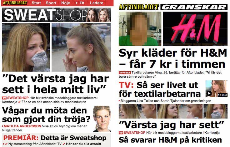 Aftonbladet Sweatshop Joakim Kleven