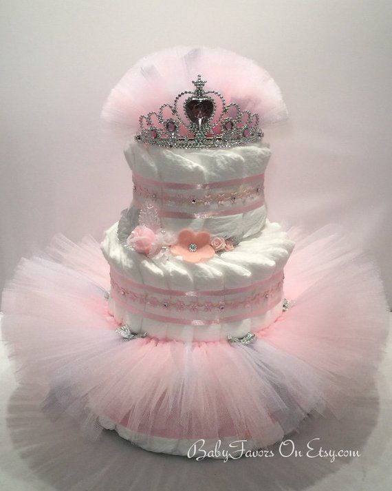 Ballerina Tutu Diaper Cake Choice Of Colors Great Gift Or