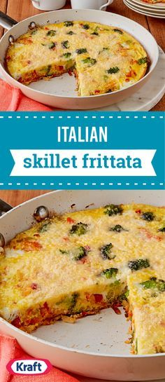 Italian Skillet Frittata – Looking for a new favorite frittata recipe? We recommend this eggy Italian-style skillet, made with shredded hash browns, mixed veggies, and grated Parmesan cheese and ready in just 37 minutes.