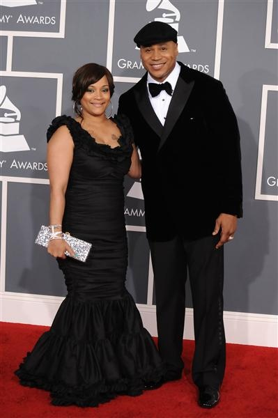 Grammy host LL Cool J and wife Simone Smith
